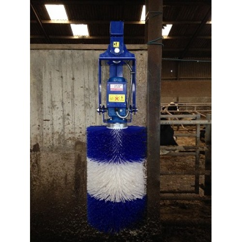 Electric Rotary Cow Brush - Galvanised