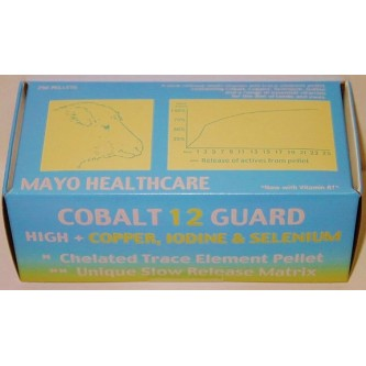 COBALT 12 GUARD HIGH LAMB BOLUS (added Copper) x 250