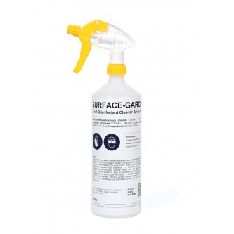 SURFACE-GARD 2 in 1 Disinfectant Cleaner Trigger Spray, for use in Human environment