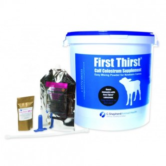 First Thirst Calf Colostrum Powder Supplement
