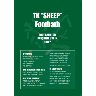 TK Sheep Footbath Suspension