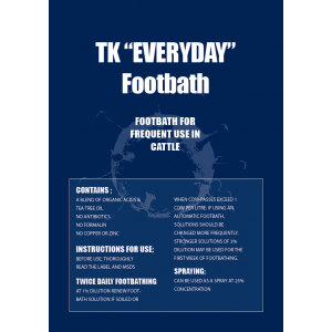 TK Everyday Cattle Footbath Concentrate