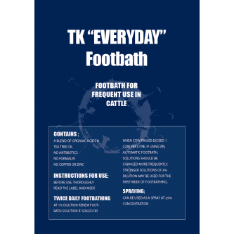 TK Everyday Cattle Footbath Chemical (use at 1%)