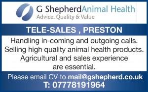 Job Vacancy at G Shepherd Animal Health